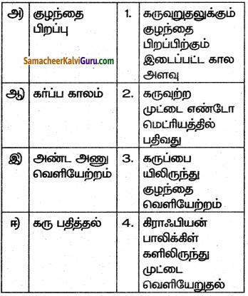 Samacheer Kalvi 10th Science Guide Chapter 17 தாவரங்கள் மற்றும் விலங்குகளில் இனப்பெருக்கம் 45