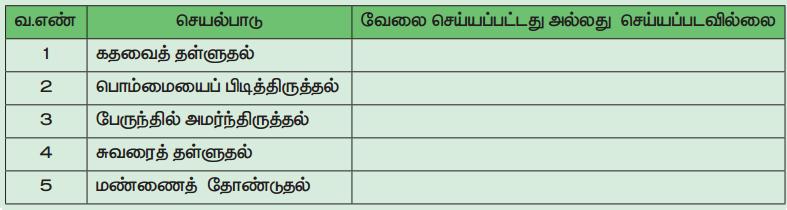 Samacheer Kalvi 4th Science Guide Term 1 Chapter 3 வேலை மற்றும் ஆற்றல் 8