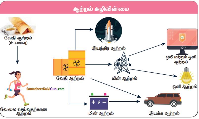 Samacheer Kalvi 5th Science Guide Term 1 Chapter 3 ஆற்றல் 6