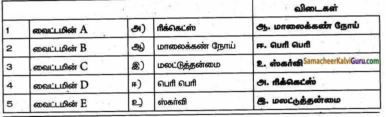 Samacheer Kalvi 6th Science Guide Term 1 Chapter 6 உடல் நலமும் சுகாதாரமும் 81