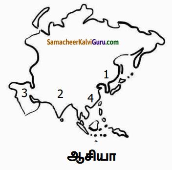 Samacheer Kalvi 6th Social Science Guide Term 3 Geography Chapter 1 ஆசியா மற்றும் ஐரோப்பா 85