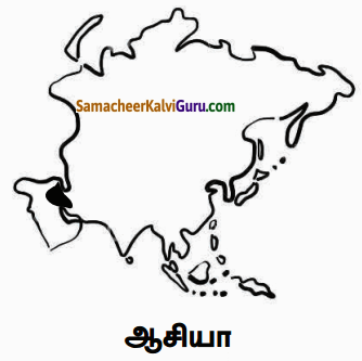 Samacheer Kalvi 6th Social Science Guide Term 3 Geography Chapter 1 ஆசியா மற்றும் ஐரோப்பா 87