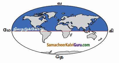Samacheer Kalvi 6th Social Science Guide Term 3 Geography Chapter 2 புவி மாதிரி 81