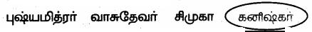 Samacheer Kalvi 6th Social Science Guide Term 3 History Chapter 2 இந்தியா – மௌரியருக்குப் பின்னர் 100
