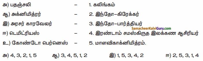 Samacheer Kalvi 6th Social Science Guide Term 3 History Chapter 2 இந்தியா – மௌரியருக்குப் பின்னர் 80