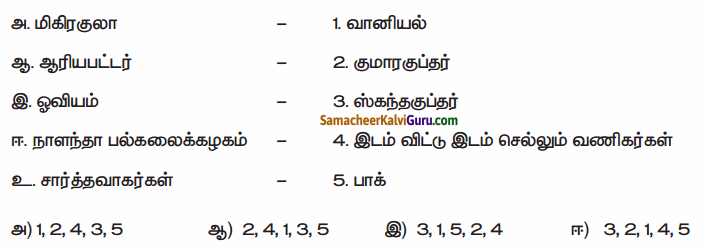 Samacheer Kalvi 6th Social Science Guide Term 3 History Chapter 3 பேரரசுகளின் காலம் குப்தர், வர்த்த னர் 90