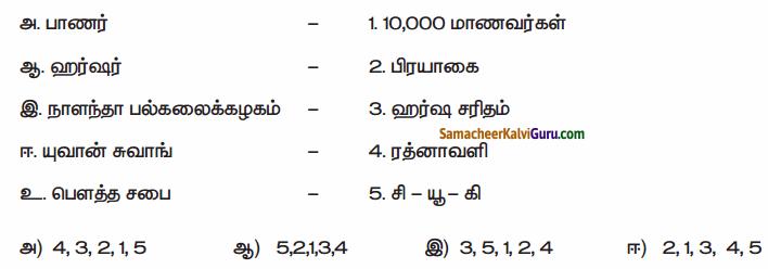 Samacheer Kalvi 6th Social Science Guide Term 3 History Chapter 3 பேரரசுகளின் காலம் குப்தர், வர்த்த னர் 91