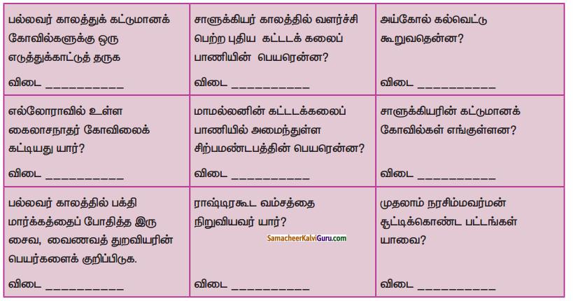 Samacheer Kalvi 6th Social Science Guide Term 3 History Chapter 4 தென்னிந்திய அரசுகள் 90