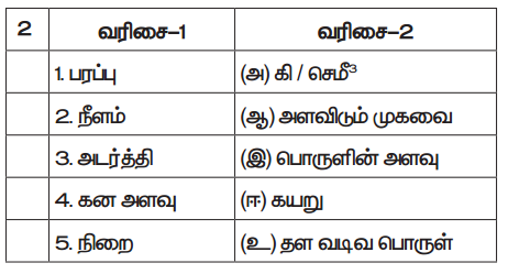 Samacheer Kalvi 7th Science Guide Term 1 Chapter 1 அளவீட்டியல் 3