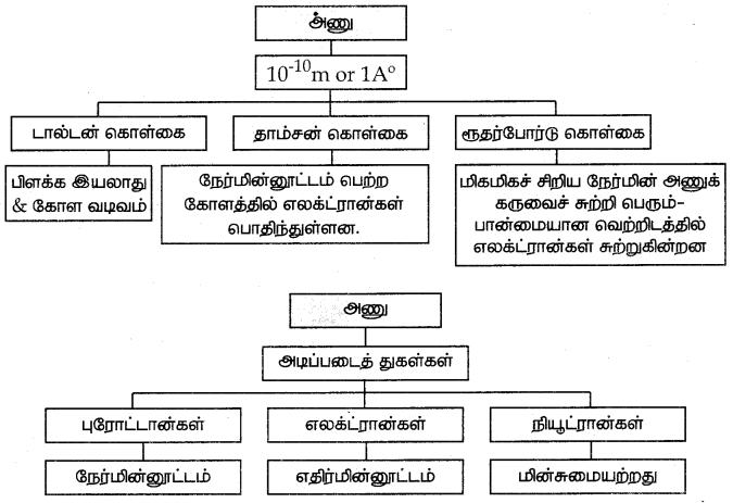 Samacheer Kalvi 7th Science Guide Term 1 Chapter 4 அணு அமைப்பு 15