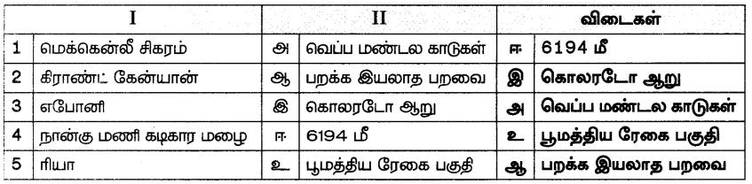 Samacheer Kalvi 7th Social Science Guide Term 3 Geography Chapter 1 கண்டங்களை ஆராய்தல் - வடஅமெரிக்கா மற்றும் தென்அமெரிக்கா 2